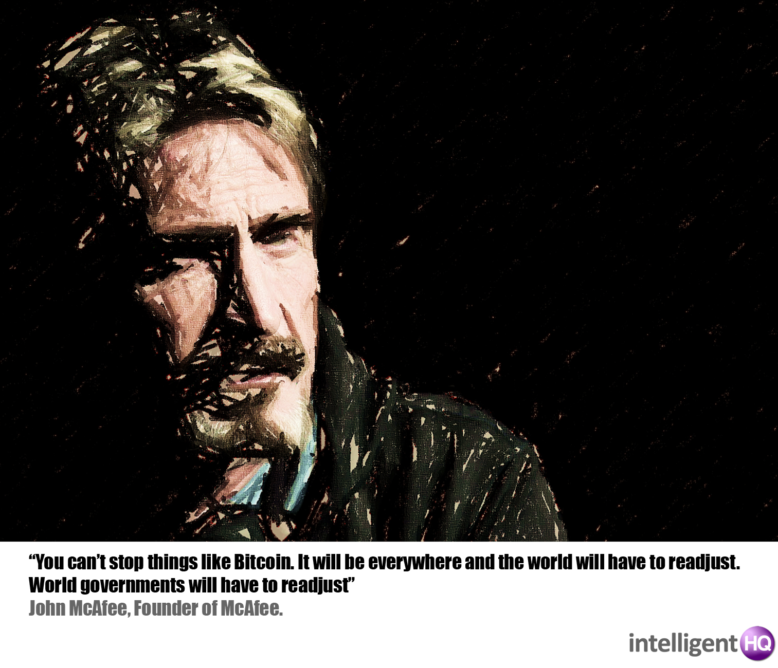 John McAfee, Founder of McAfee