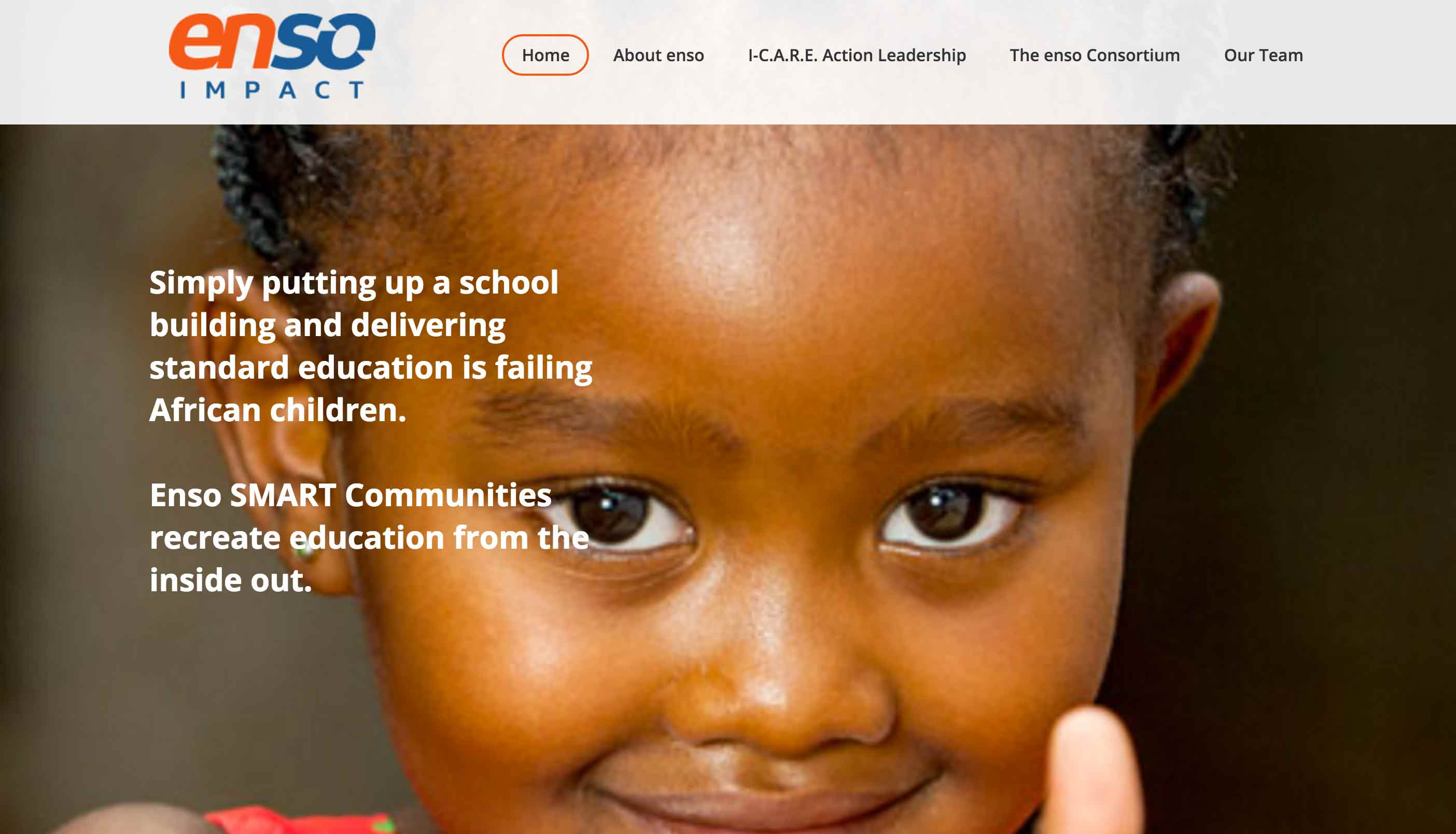 Enso SMART Communities recreate education from the inside out.