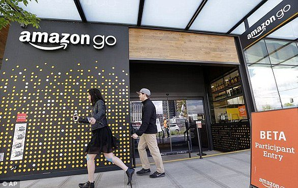amazon go - The Future of Work in the Age of the Machine