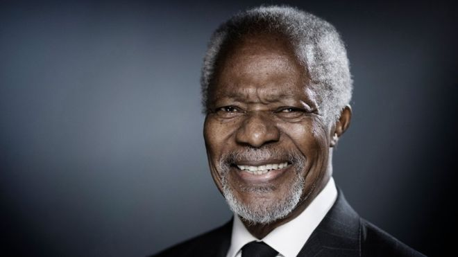 Kofi Annan - United Nations 6 Principles for Responsible Investment