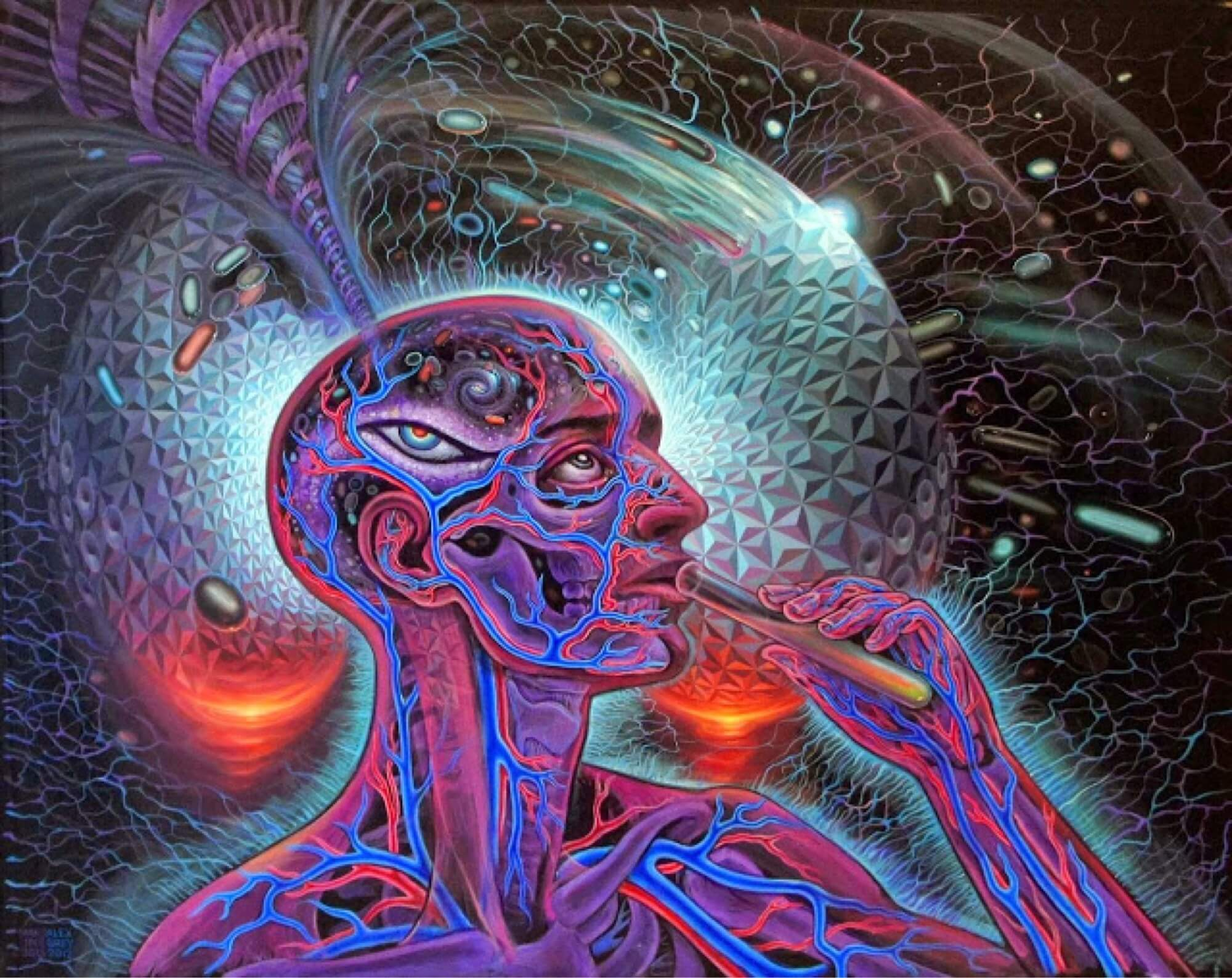 DMT, A Short-Acting Psychedelic, Is Effective Treatment For ...