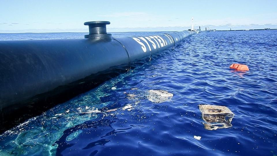 Upgraded Ocean Cleanup Barrier Deployed To Clean The Great