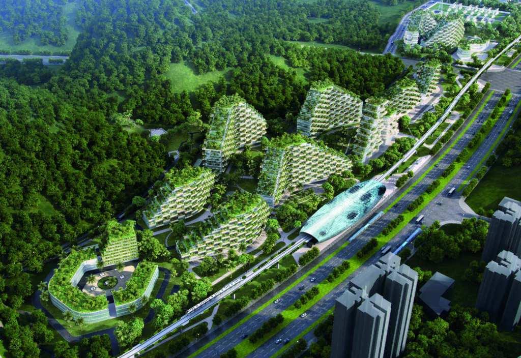 Liuzhou Forest City, China