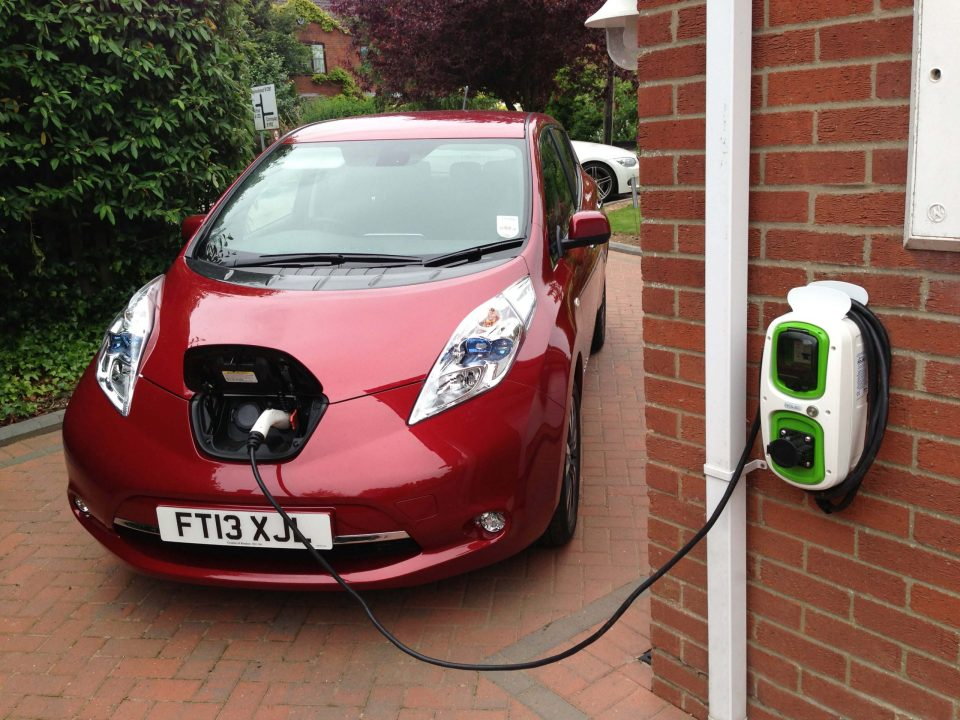 England home electric car smart charger
