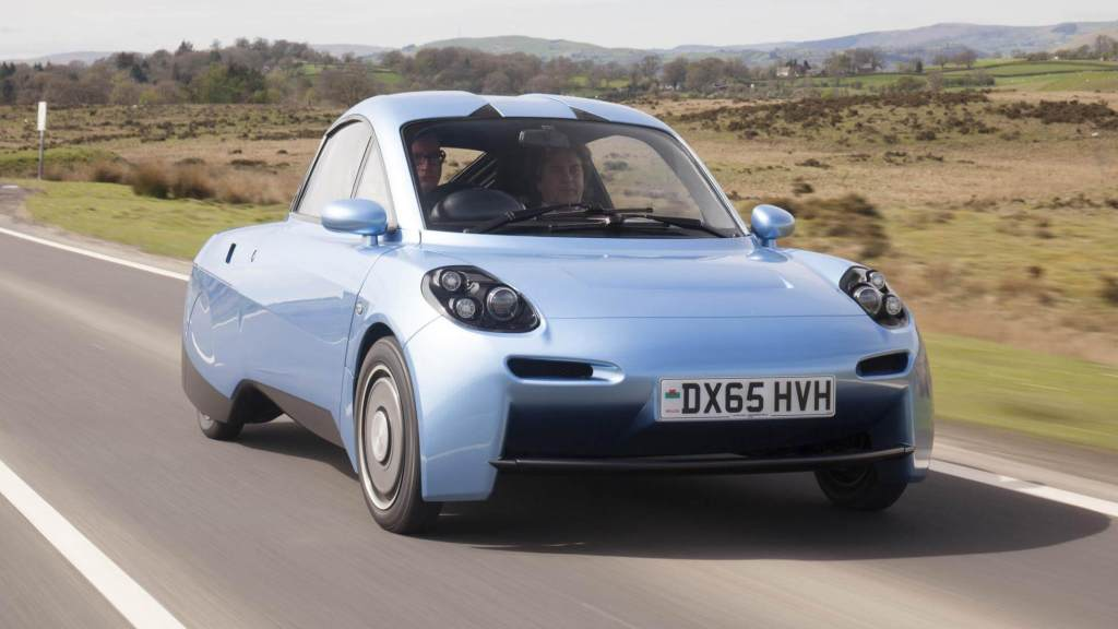 Rasa car by Riversimple