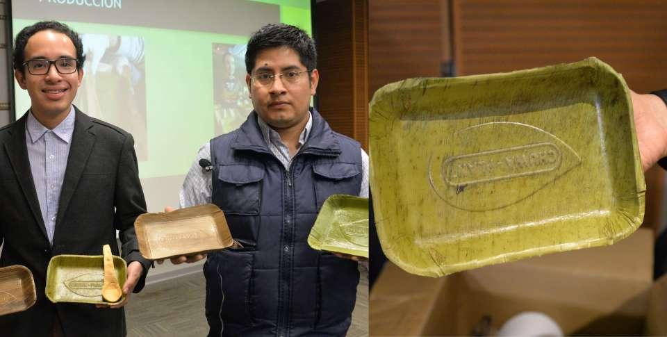 Bio Plant banana based plates from peru
