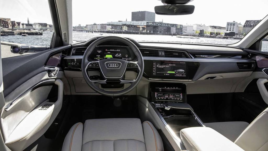 Interior of Audi E-Tron GT