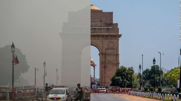 Coronavirus Lockdown Has Drastically Reduced India's Air Pollution