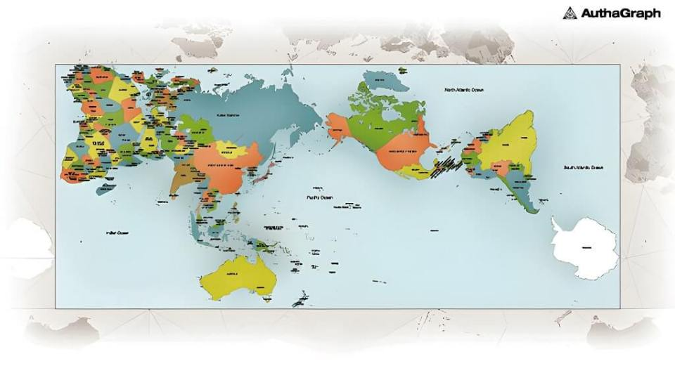 Most Accurate Map Of The World This Is The Most Accurate Map of The World Ever Produced