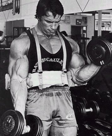 arm-blaster-dumbbell-curls
