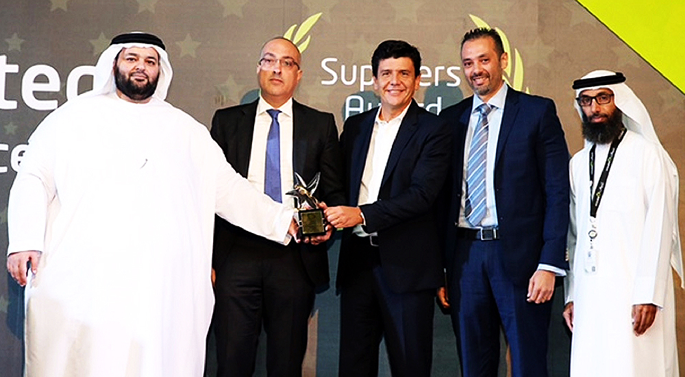 Emircom recognised amongst top suppliers by Etisalat