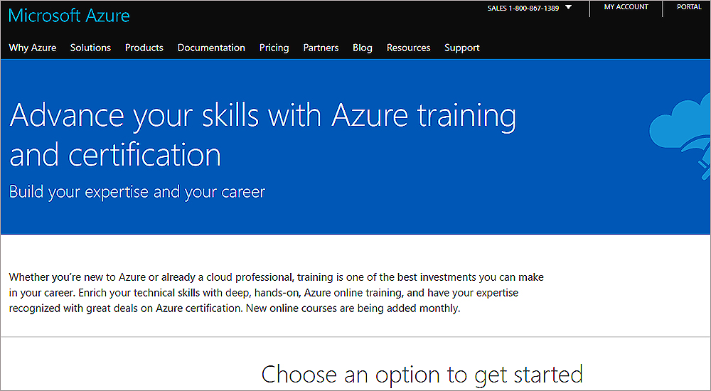 Microsoft Azure skills training and certification promoted in UAE