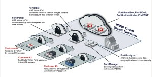 du builds cloud managed security services on Fortinet Security Fabric platform