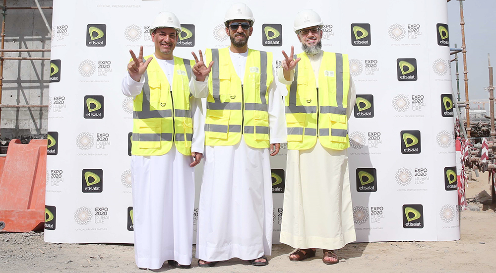 Etisalat achieves 2020 milestone with completion of first points of presence