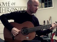 Game of Thrones: Main Title theme for classical guitar