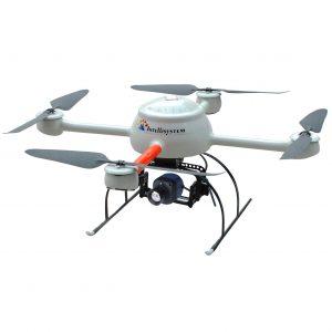 ThermalTronix TT1640S-UAV Drone Integration Example 3 - Intellisystem