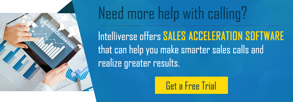 Get a free trial of Intelliverse Sales Acceleration.
