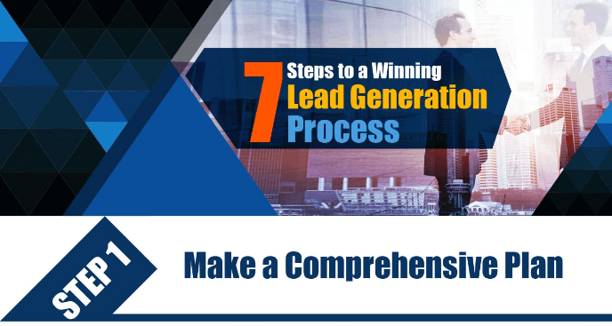7 Step to a Winning Lead Generation Process-Infographic