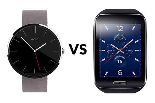 Moto 360 vs Samsung Gear S – Which is the Better Android Smartwatch?