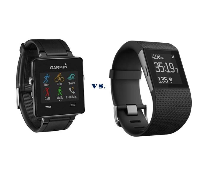 Garmin Vivofactive vs Fitbit Surge - Battle of the Activity
