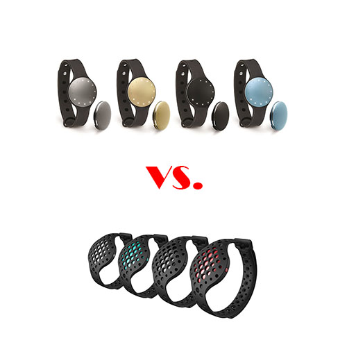 Moov Now vs Misfit Shine 2 - Which Fitness Wearable Should