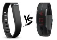 Polar Loop vs Fitbit Flex Activity Tracker Comparison