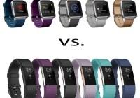 Fitbit Blaze vs. Fitbit Charge 2
