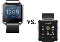 Fitbit Blaze vs. Garmin Vivoactive