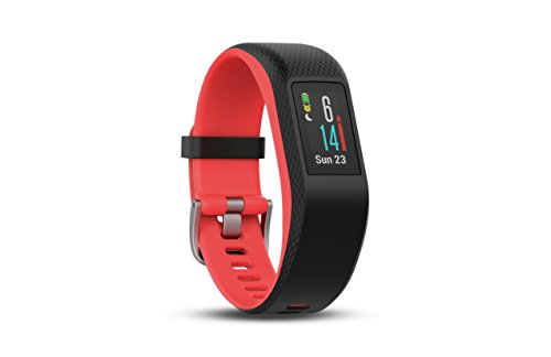 With A Range Of Sensors Such As The Wrist Heart Rate Monitor GPS Barometric Altimeter And Accelerometer Garmin Vivosport Can Track Your Activity