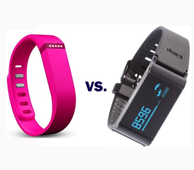 Withings Pulse Vs Fitbit Flex