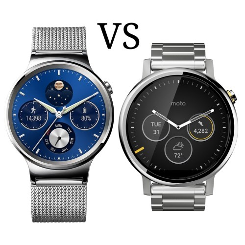 Huawei Watch vs. Moto 360