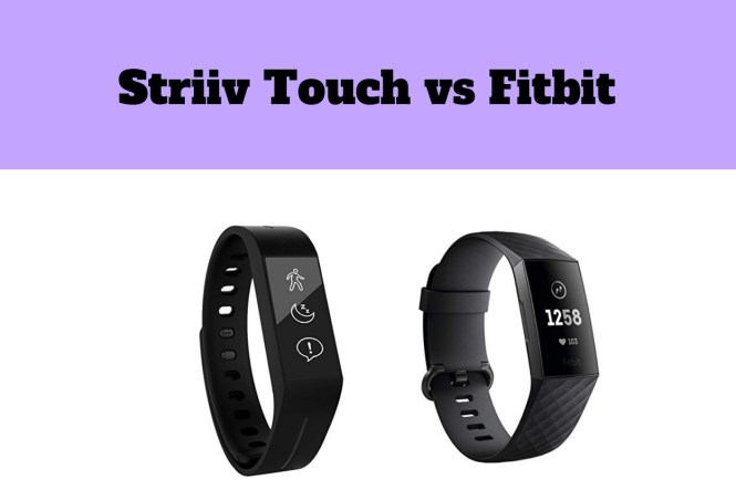 Striiv Touch vs Fitbit