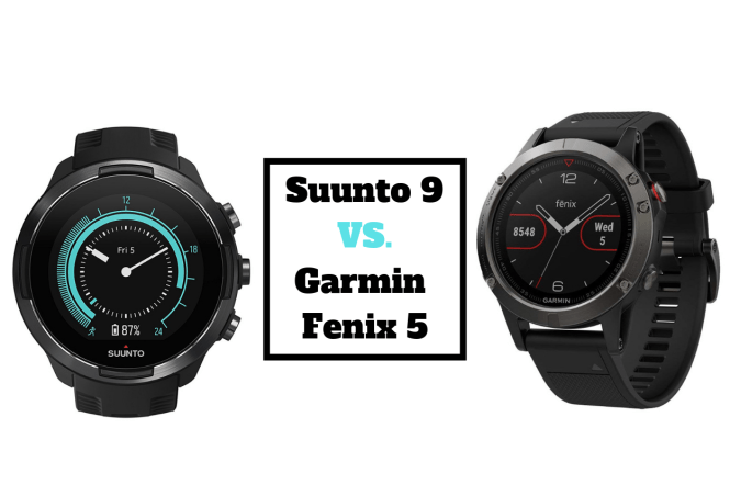 Suunto 9 vs. Garmin Fenix 5
