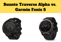 Suunto Traverse Alpha vs. Garmin Fenix 5