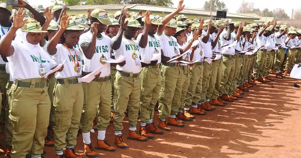 NYSC Corp Members during parade