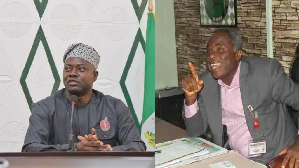 Seyi Makinde and UCH CMD