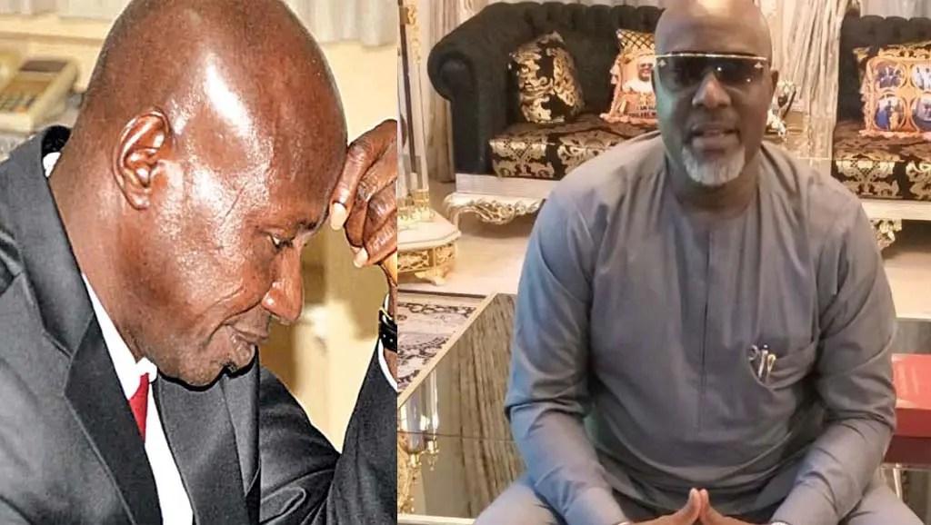 Dino Melaye and Ibrahim Magu