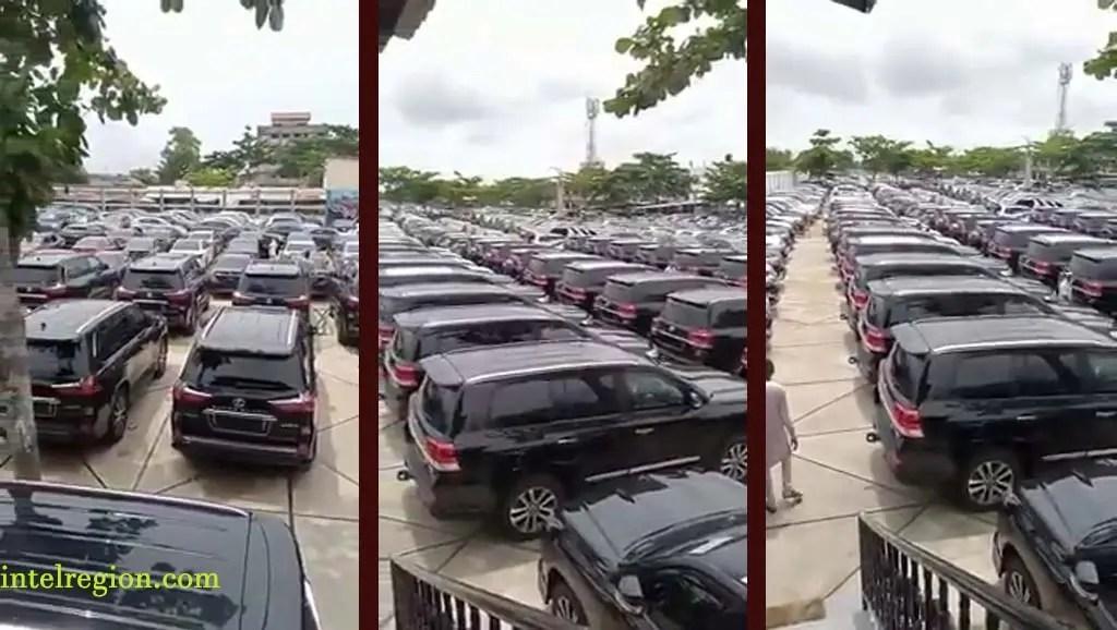 New SUVs belonging to NASS Members