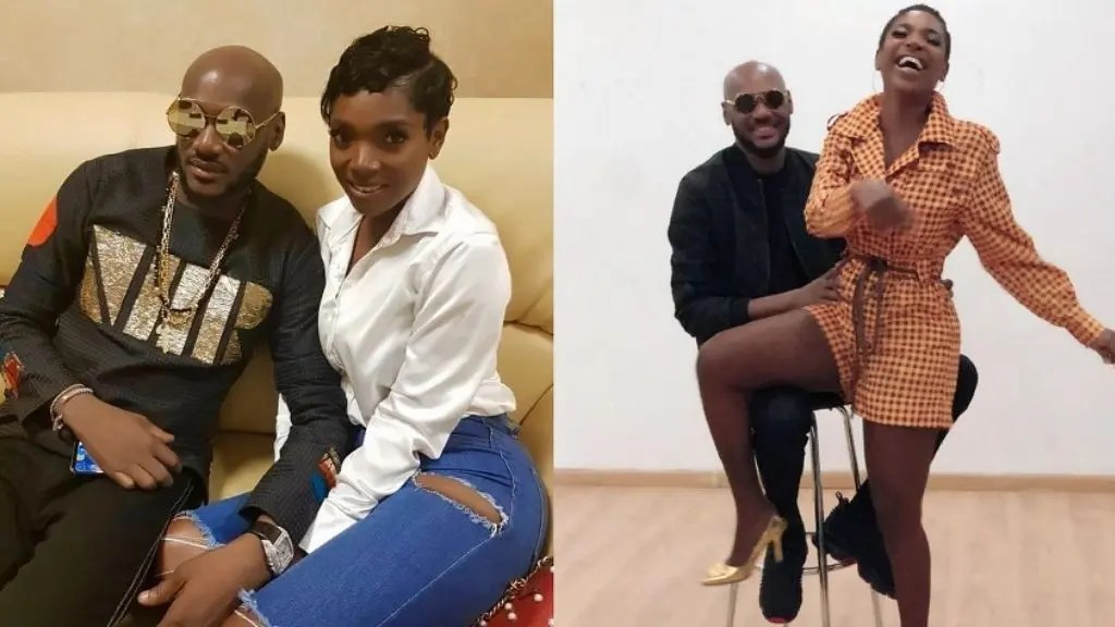 Annie Idibia and 2baba
