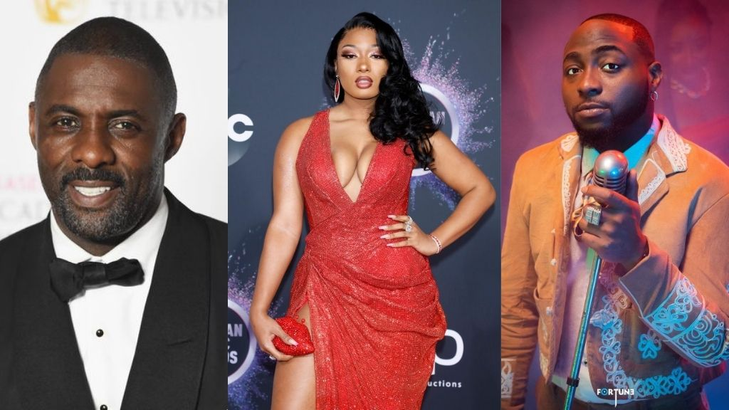 I have a song with Davido and Megan Thee Stallion - Hollywood Actor, Idris Elba