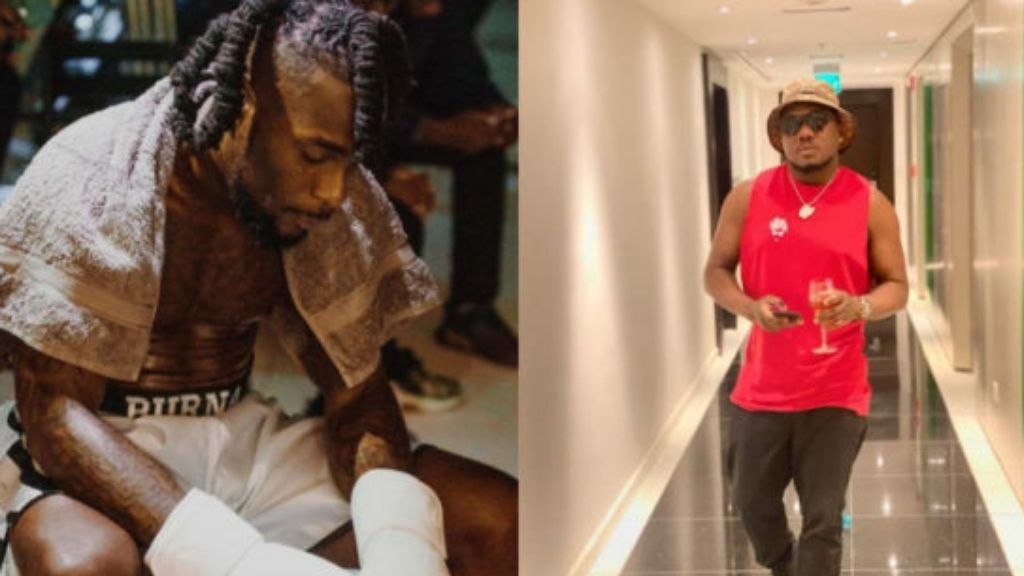"""""""Burna Boy and his boys stabbed me"""" – CDQ releases disturbing video of encounter"""