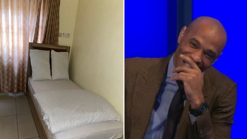 Hilarious Hotel Bed
