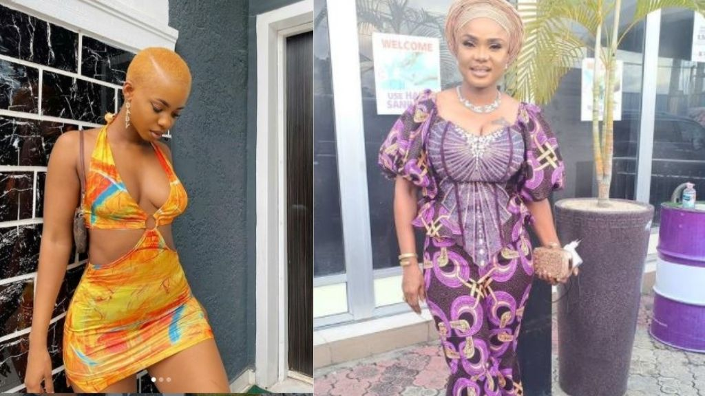 'See wetin your daughter is putting on' - Fans shade Iyabo Ojo for encouraging her daughter dress seductively