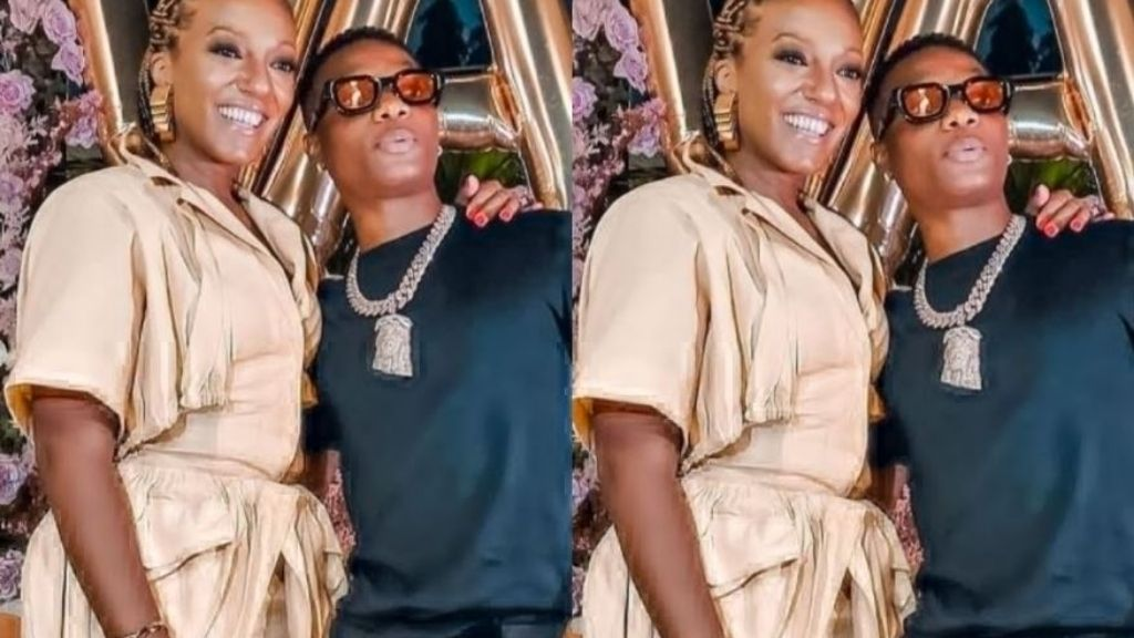 Wizkid spotted at President Nana Akuffo Addo's daughter, birthday party (video)