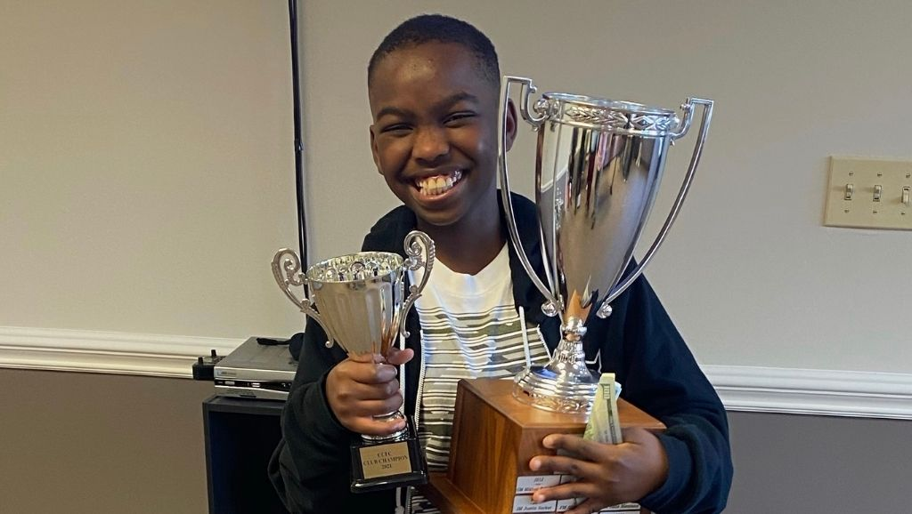 10-year-old Nigerian kid becomes America's chess champion