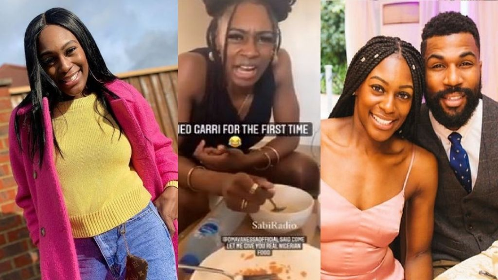 BBNaija's Mike Edward's wife, Perri reacts as she takes Garri for the first time (video)