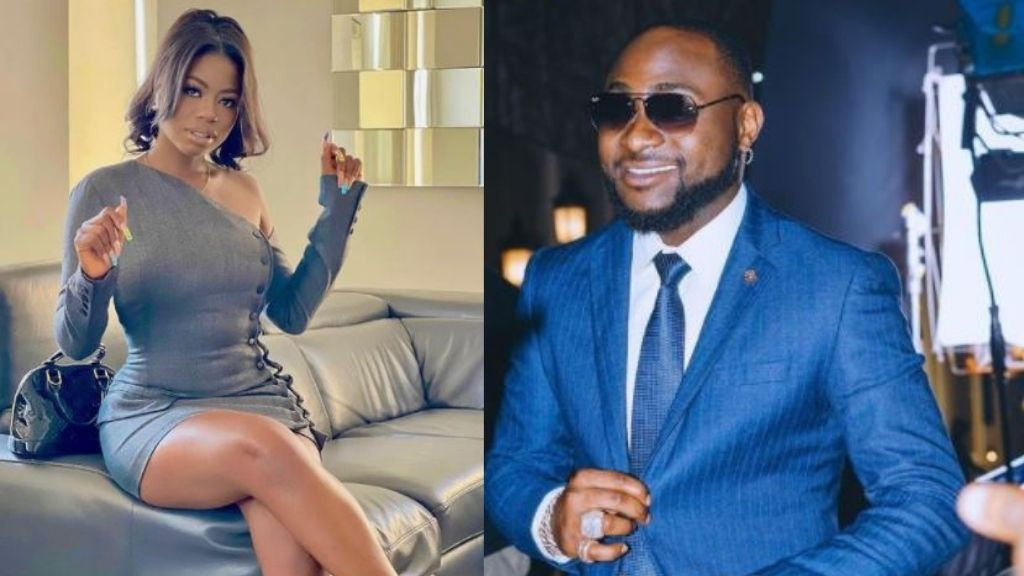 Davido's first Babymama, Sophia Momodu reacts as he declares Chioma's son his 'Heir Apparent'