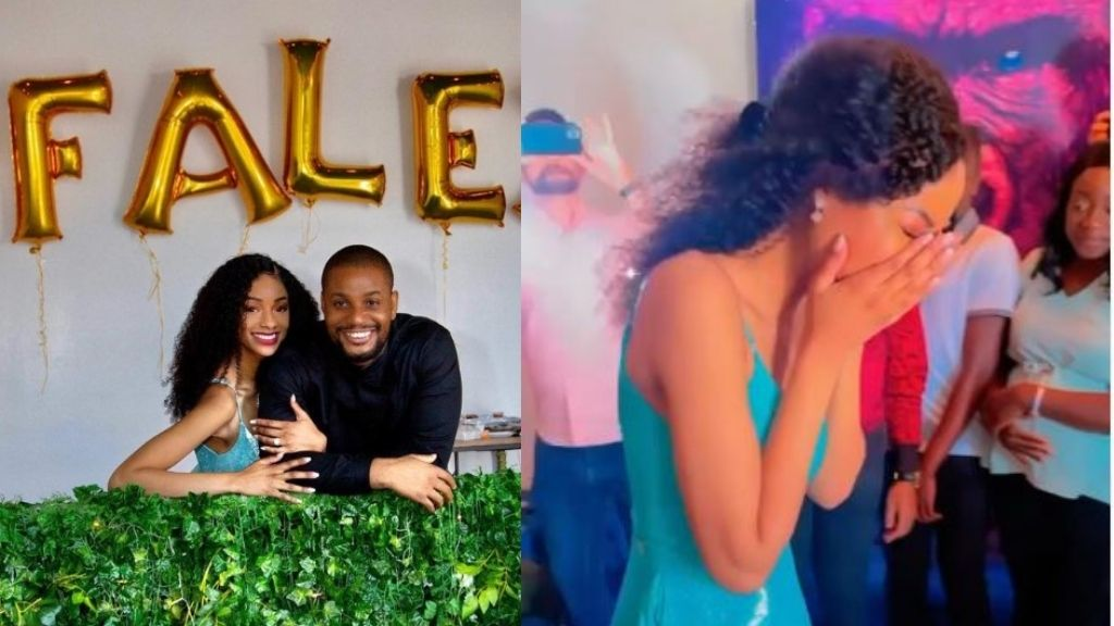 """""""I thought I was going for a photoshoot with my sister not knowing it was a set-up"""" – Alex Ekubo's fiancee (Video)"""