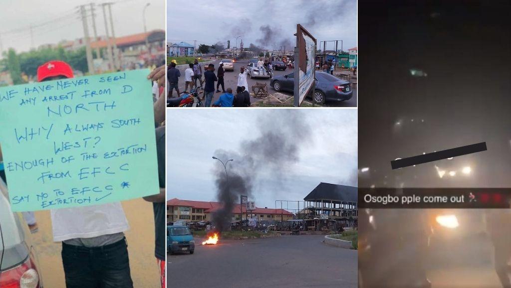 Osogbo Yahoo Boys Protest
