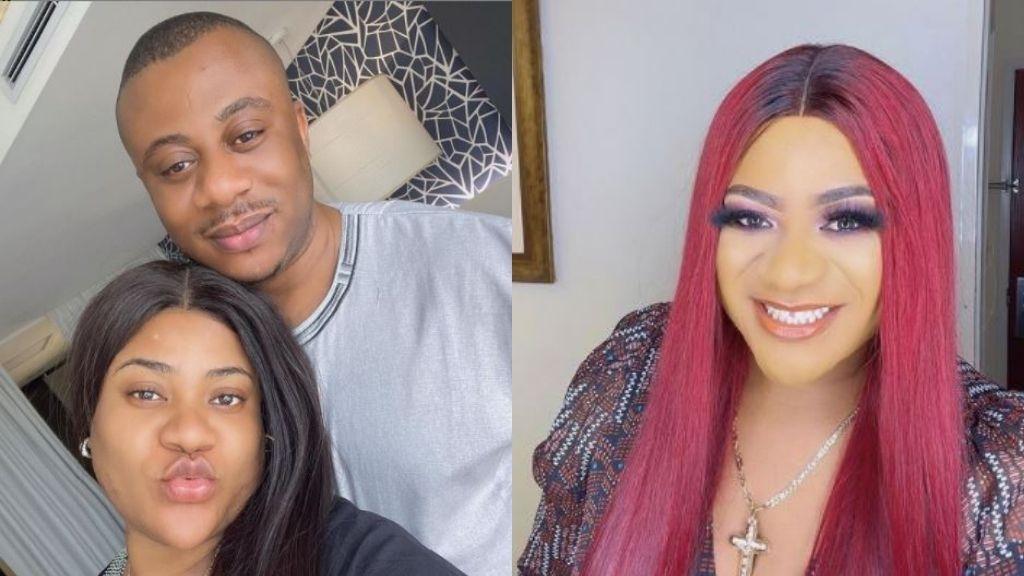 Actress Nkechi Blessing celebrates husband on his birthday